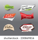 vector illustration sale... | Shutterstock .eps vector #230869816