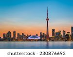 Skyline Of Toronto Over Ontari...
