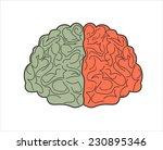 brain icon | Shutterstock . vector #230895346