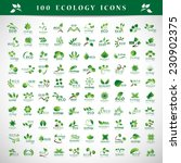 ecology icons set   isolated on ... | Shutterstock .eps vector #230902375