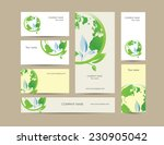 cute business elements   cards  ... | Shutterstock .eps vector #230905042