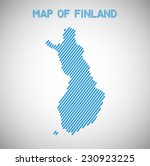 map of finland. transparency... | Shutterstock .eps vector #230923225