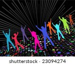 party people | Shutterstock .eps vector #23094274