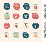 baby bubble speech banner... | Shutterstock .eps vector #230962252