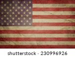 usa flag | Shutterstock . vector #230996926