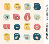 pet bubble speech flat banner... | Shutterstock .eps vector #231004678