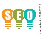 search engine optimization  seo ... | Shutterstock . vector #231007012