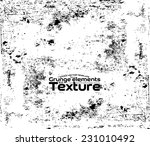 grunge texture   abstract stock ... | Shutterstock .eps vector #231010492