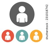 person icon | Shutterstock .eps vector #231018742