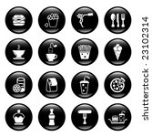 food icons | Shutterstock .eps vector #23102314