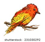illustration of abstract... | Shutterstock .eps vector #231030292