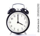 alarm clock  | Shutterstock . vector #231031252