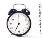 alarm clock  | Shutterstock . vector #231031255