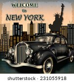 Welcome To New York Retro...