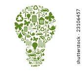 vector illustration of bulb... | Shutterstock .eps vector #23106457