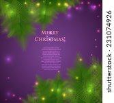 Festive Christmas Card With...