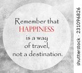 inspirational and motivational... | Shutterstock . vector #231096826