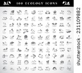ecology icons set   isolated on ... | Shutterstock .eps vector #231109882