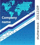 business card and background   Shutterstock .eps vector #23112109