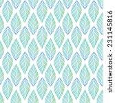 vintage seamless pattern based... | Shutterstock . vector #231145816