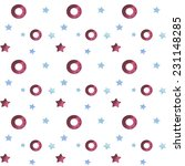 vintage seamless pattern with... | Shutterstock . vector #231148285