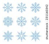 Various Winter Snowflakes...