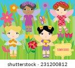 Cute Garden Fairy Girls
