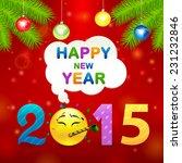 2015 smile idea | Shutterstock .eps vector #231232846