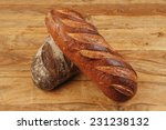 different rye and white flour... | Shutterstock . vector #231238132