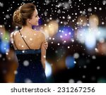 people  christmas  holidays and ... | Shutterstock . vector #231267256