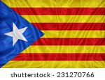 catalan independence blue... | Shutterstock . vector #231270766