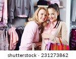 two friendly females in smart... | Shutterstock . vector #231273862