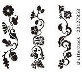 ornamental frieze designs with... | Shutterstock .eps vector #23127853