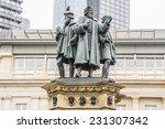 the johannes gutenberg monument ... | Shutterstock . vector #231307342
