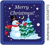 christmas design template card. ...   Shutterstock .eps vector #231318772
