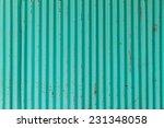 Pastel Blue Of Galvanized Sheet ...