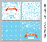 set of greeting cards and... | Shutterstock .eps vector #231363058