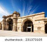 ahmedabad jama masjid mosque  | Shutterstock . vector #231373105