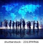global business people stock...   Shutterstock . vector #231394966