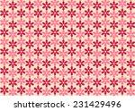 flower pattern background | Shutterstock .eps vector #231429496