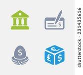 Banking Icons. Granite Series....