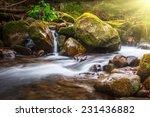 Beautiful Landscape Rapids On A ...