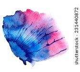 watercolor vector spot | Shutterstock .eps vector #231440872
