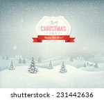holiday christmas background... | Shutterstock . vector #231442636