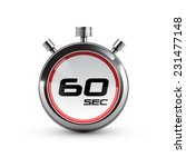 timer icon. 60 sec. | Shutterstock .eps vector #231477148