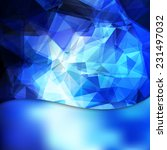 abstract geometric invitation... | Shutterstock .eps vector #231497032