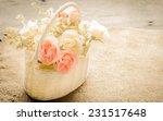Beautiful Flowers In A Basket ...