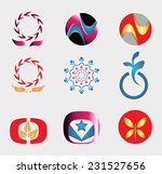 set of logo and icons | Shutterstock .eps vector #231527656