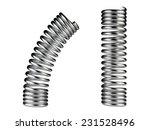 elastic metal spring  dynamic... | Shutterstock . vector #231528496