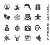 christmas icon set 3  vector... | Shutterstock .eps vector #231546562